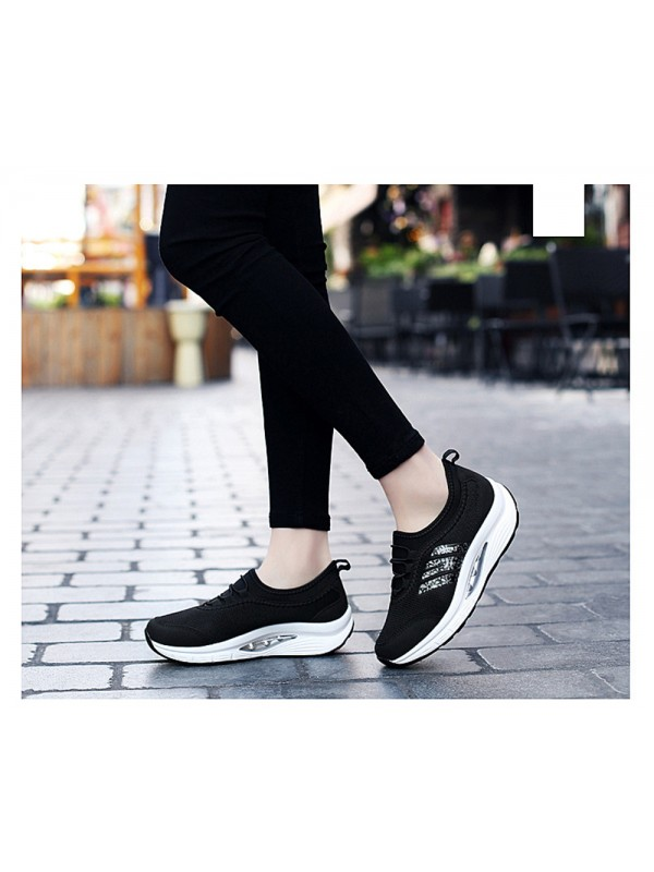 Fashion Casual Breathable Mesh Shoes Ladies Sneakers