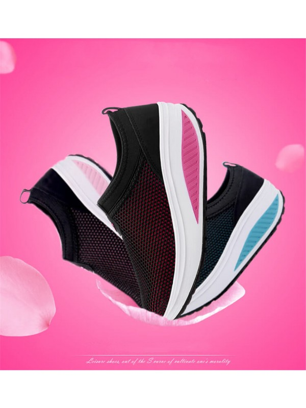 Women Breathable Fitness Sneakers
