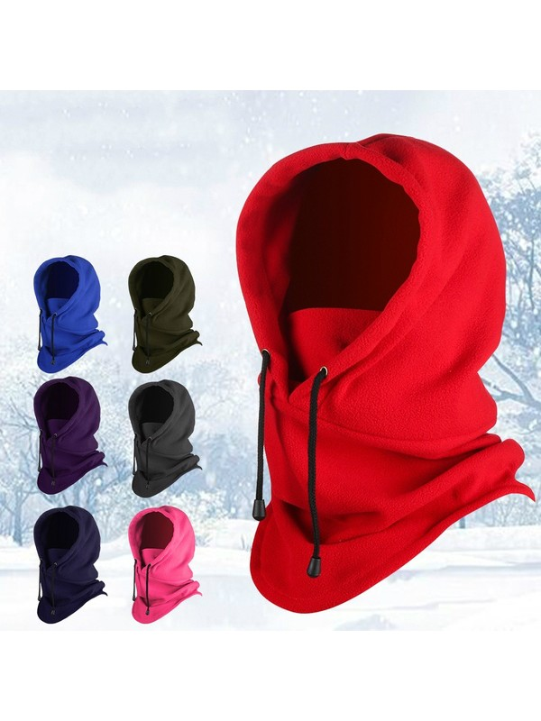 Thermal Outdoor Winter Hooded Face Coverings