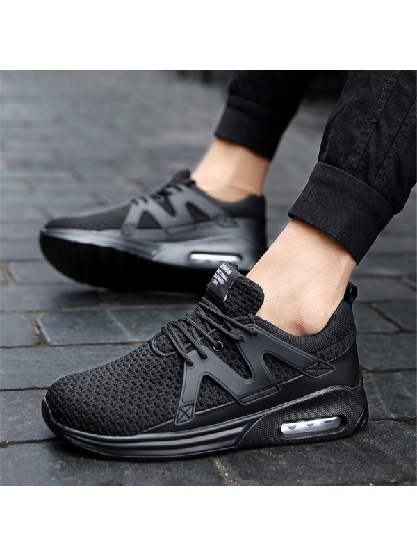 Men Runners Shoes Breathable Mesh Sneakers