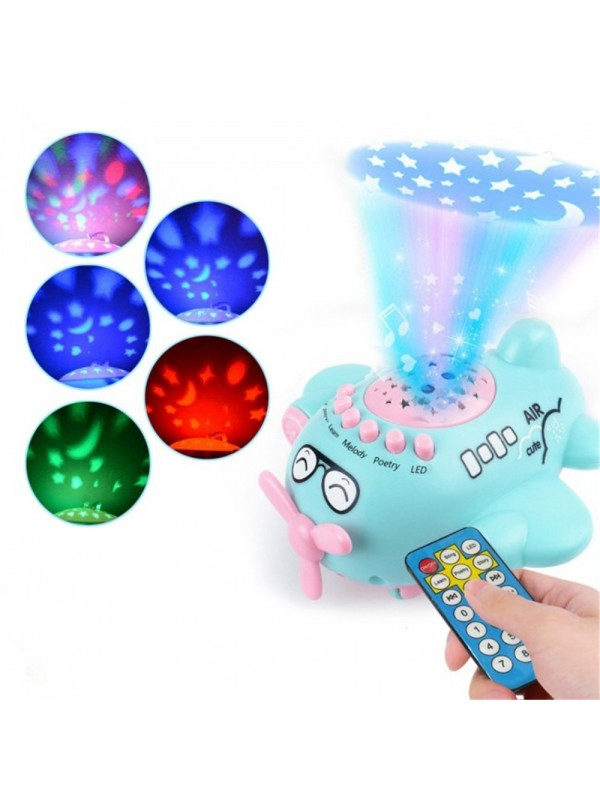 Baby Star Projection Remote Contorl Aircraft Toys