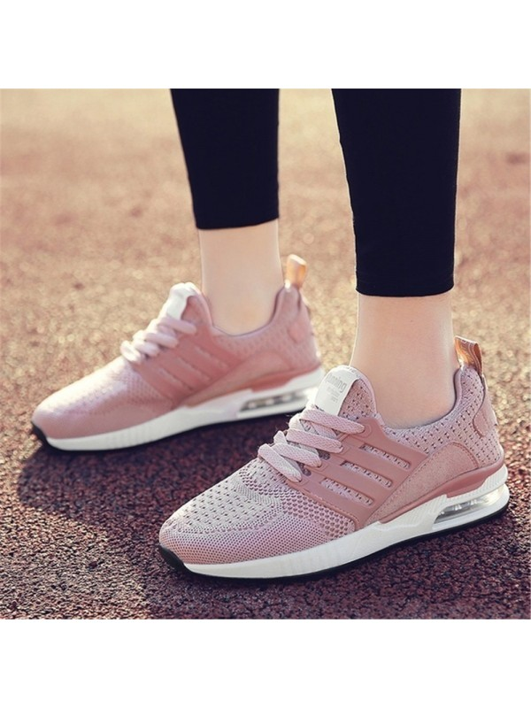 Womens Breathable Mesh Sport Shoes