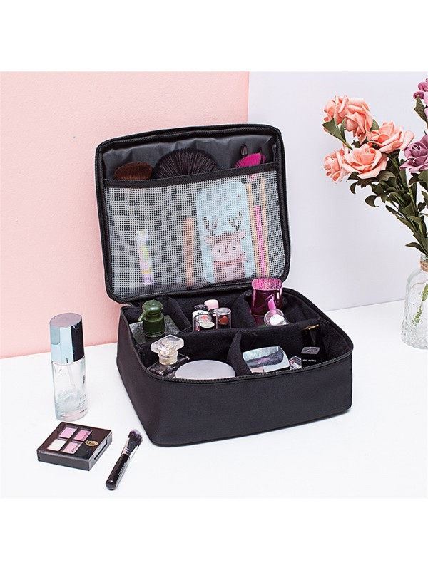 Portable Large Cosmetic Make up Case Travel Carry Bag
