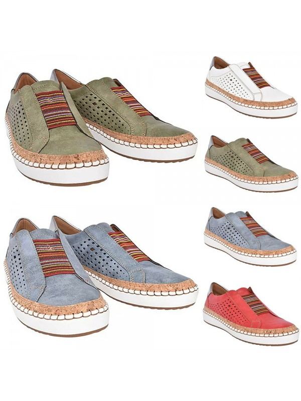 Women Breathable Comfy Loafers Shoes