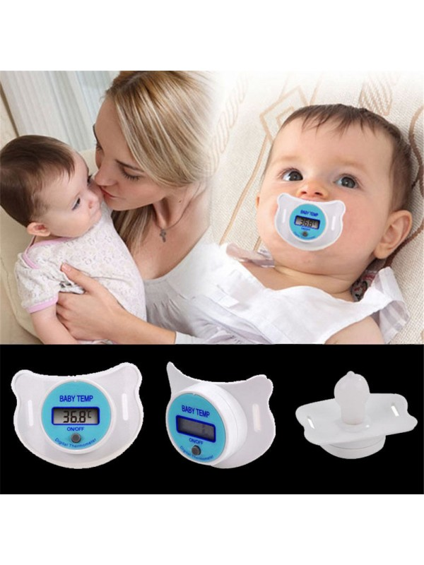 Digital LCD Baby Nipple Thermometer