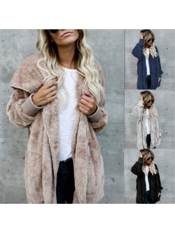 Mid-length Two-faced Warm Jacket