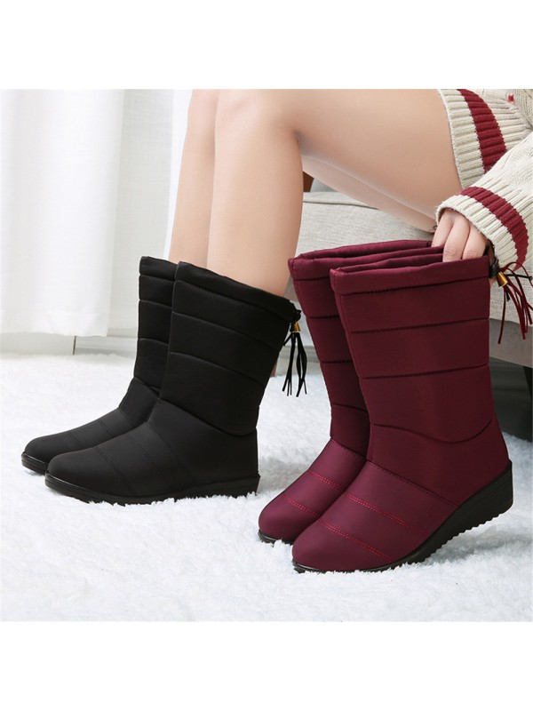 Women's Warm Fur Lined Snow Boots